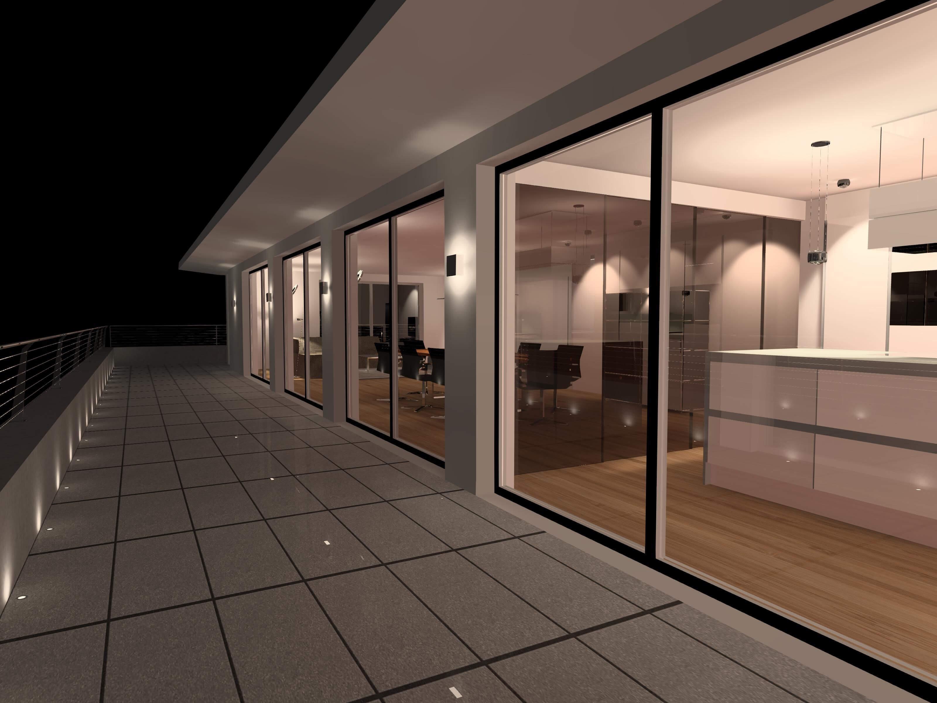 Lichtplanung | Visualisierung Beleuchtung im Außenbereich | Leuchten Lukassen