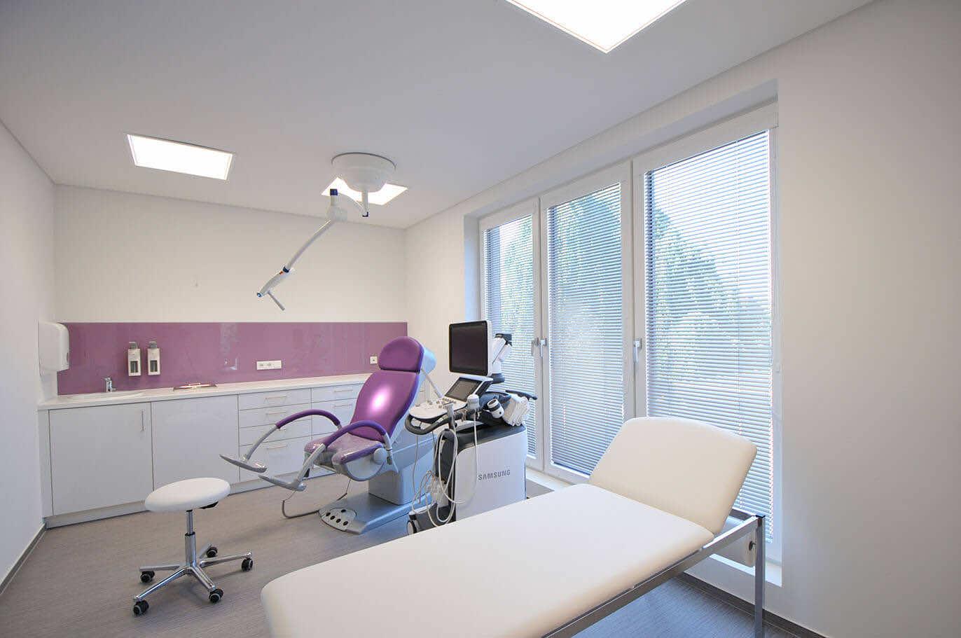 Frauenarztpraxis Kleve - Beleuchtung | Leuchten Lukassen