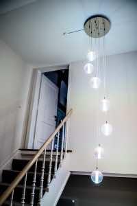 Referenzen | Villa der 1890er Jahre | Treppenhaus | Leuchten Lukassen