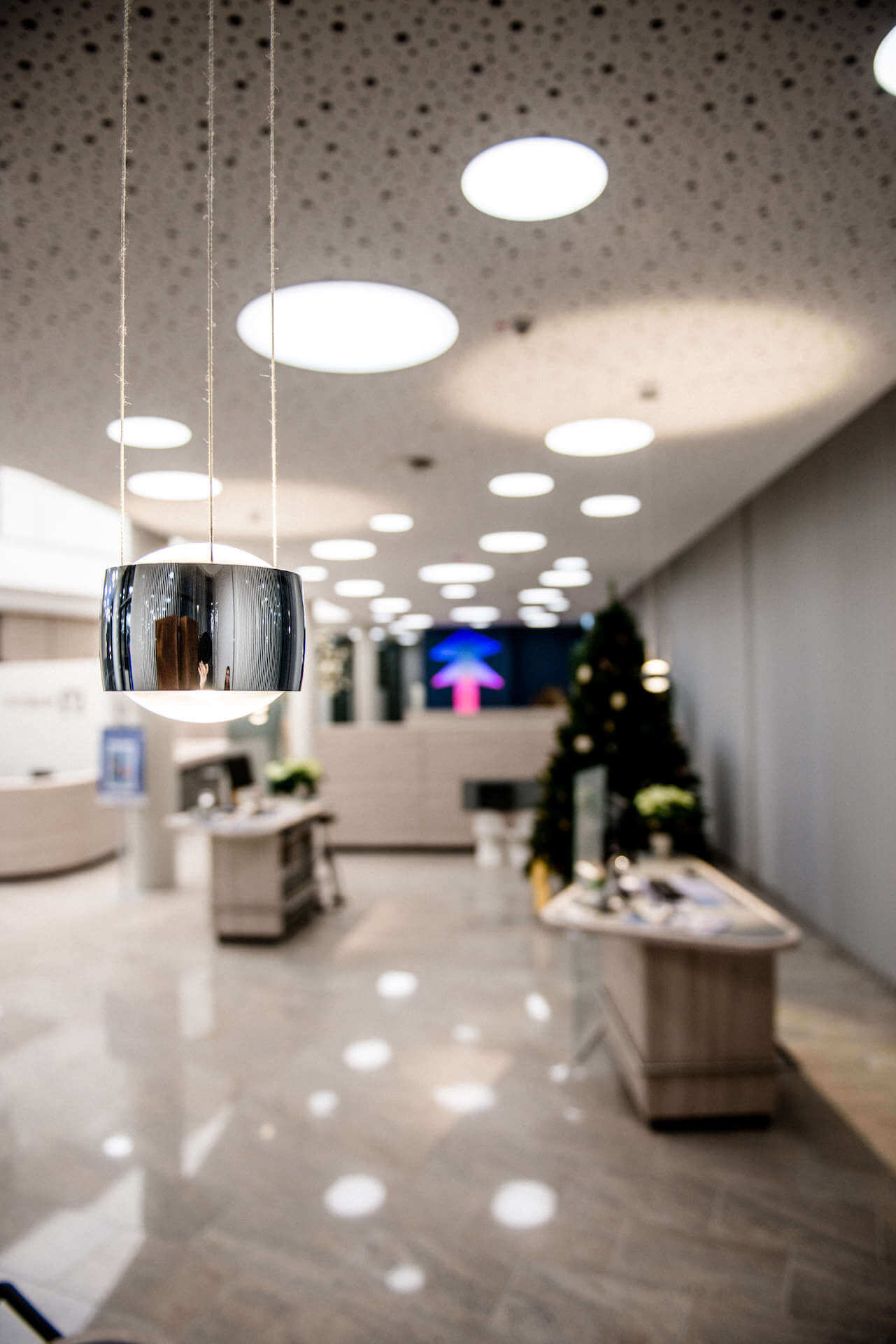 Referenzen | Volksbank Kleverland | Occhio | Leuchten Lukassen