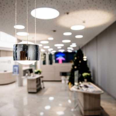 Referenzen | Volksbank Kleverland | Vorschaubild | Leuchten Lukassen