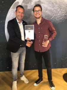 Tristan Lukassen erzielt den 2. Platz | Leuchten Lukassen