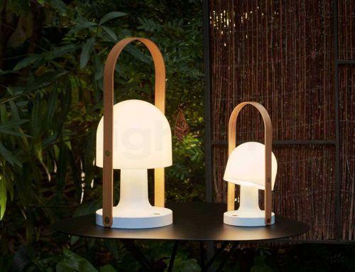 Stilvolle Akzentbeleuchtung: Akkuleuchten für den Garten
