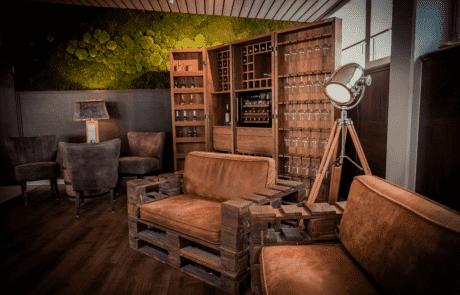 Lounge-Bereich GochNess | Leuchten Lukassen