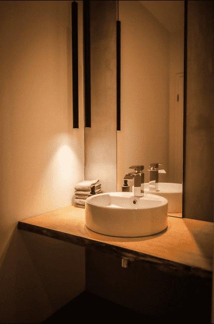 Lichtkonzept WC-Bereich | Leuchten Lukassen