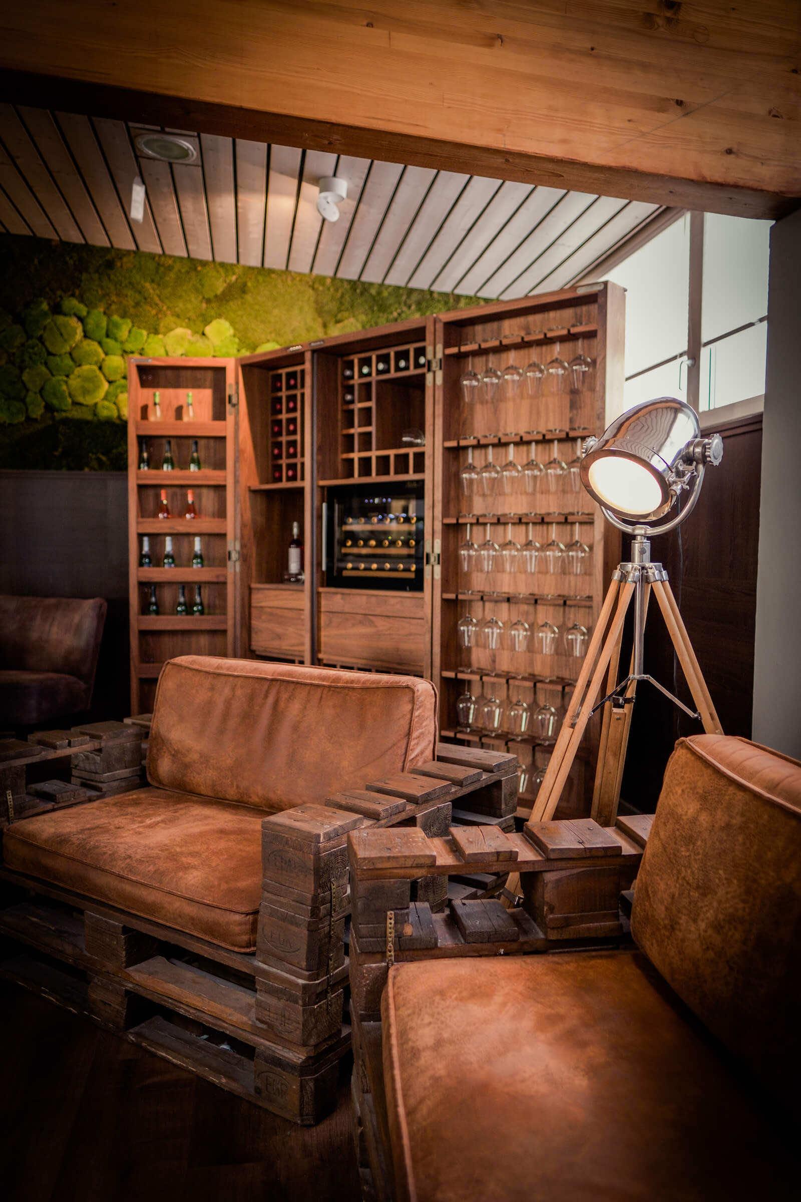 RIVA 1920 Weinschrank Cambusa Jumbo | Leuchten Lukassen