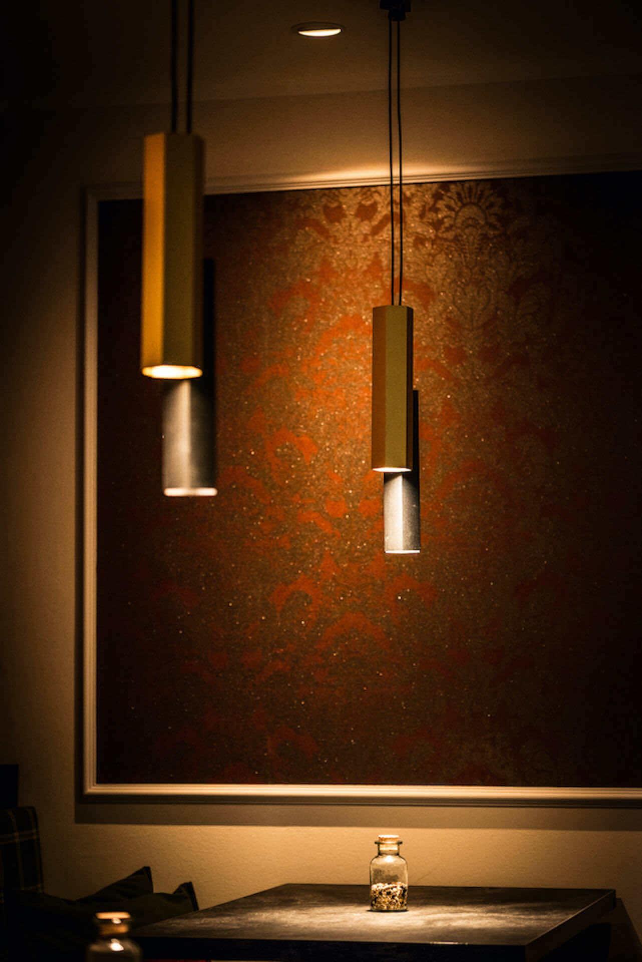 Akzentbeleuchtung Tisch | Schienensystem Wever & Ducré | Leuchten Lukassen