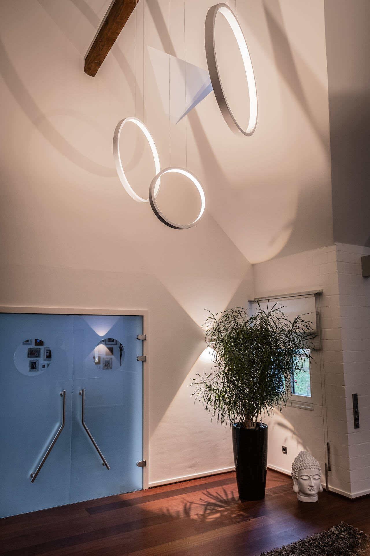 Atriumbeleuchtung Cini und Nils Assolo | Leuchten Lukassen