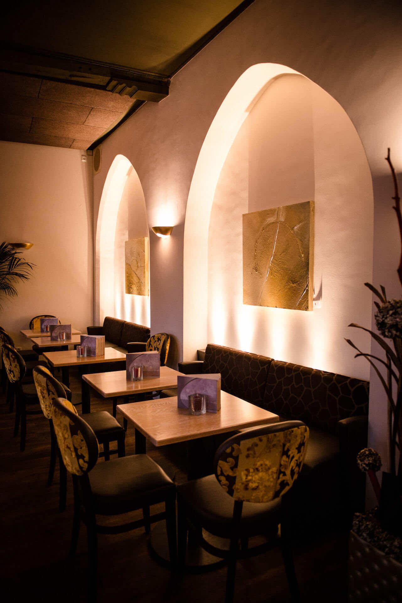 Indirekte Restaurantbeleuchtung Amadeus Kalkar | Leuchten Lukassen