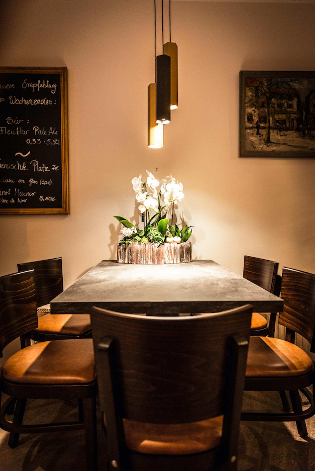 Restaurantbeleuchtung Wever & Ducré Hexo | Leuchten Lukassen
