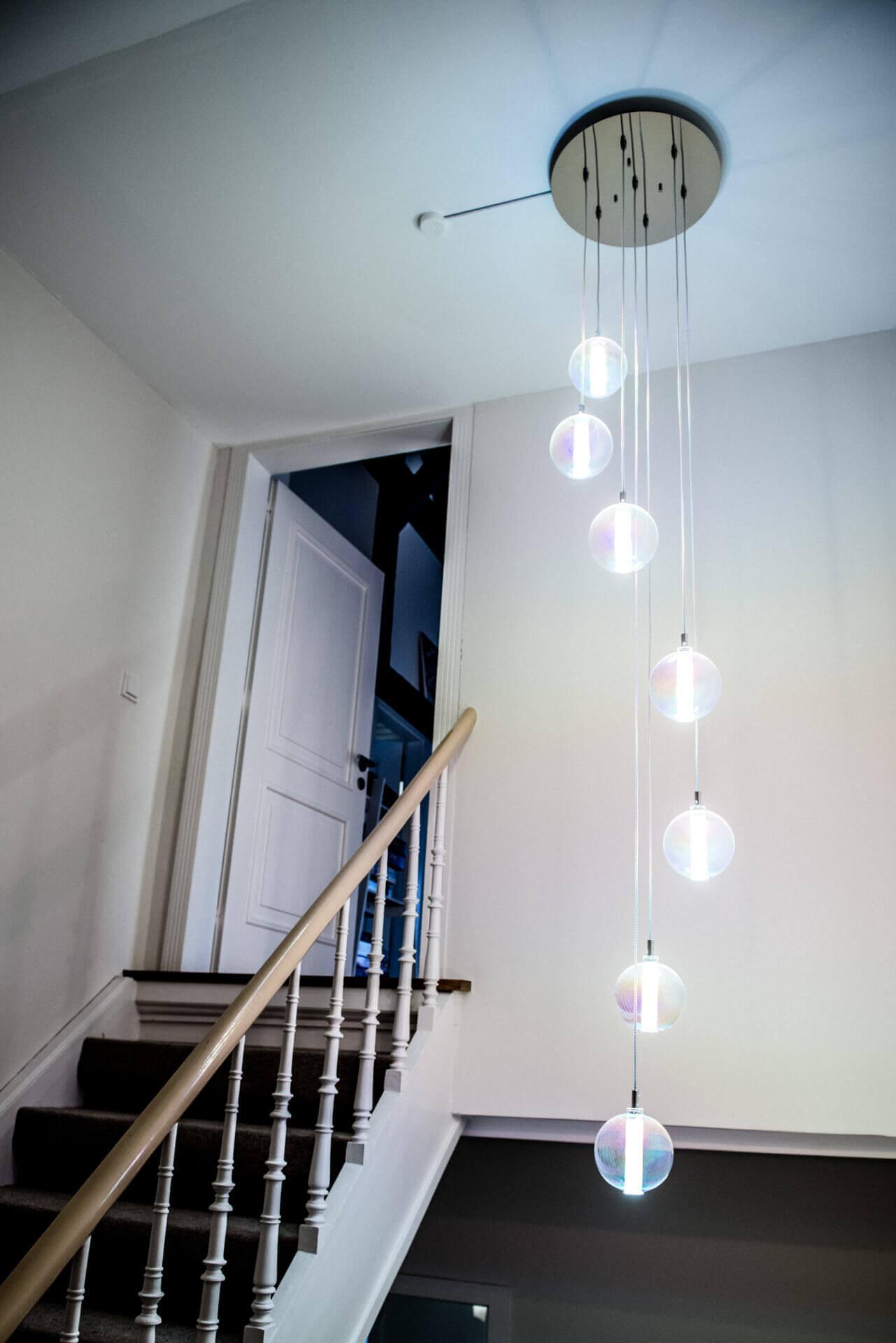 Treppenhausbeleuchtung Cangini und Tucci Eclisse Rainbow | Leuchten Lukassen