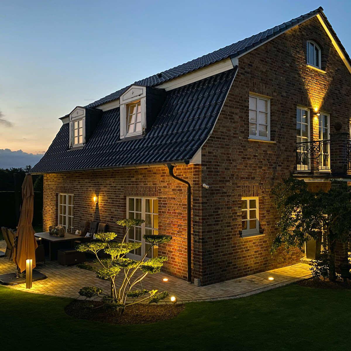 Outdoorbeleuchtung | Privatkunde Brilon | Leuchten Lukassen