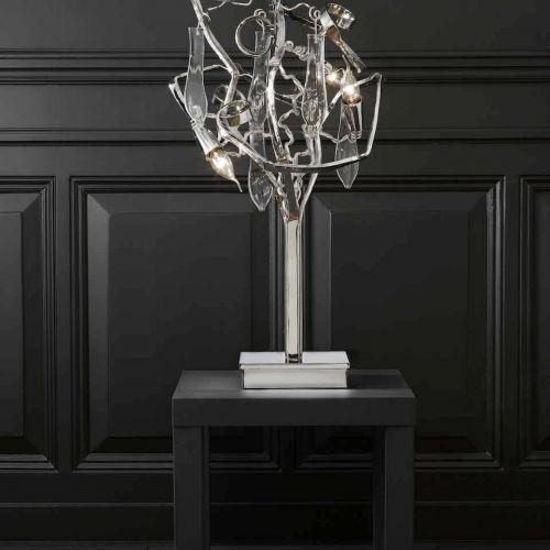 Brand van Egmond | Delphinium | Tischleuchte auf Beistelltisch | Leuchten Lukassen Lichtdesign